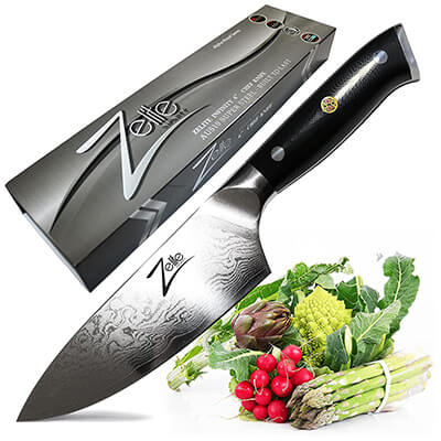 Zelite 6-inch Infinity Chef Knife 6 Inch - Alpha-Royal Series